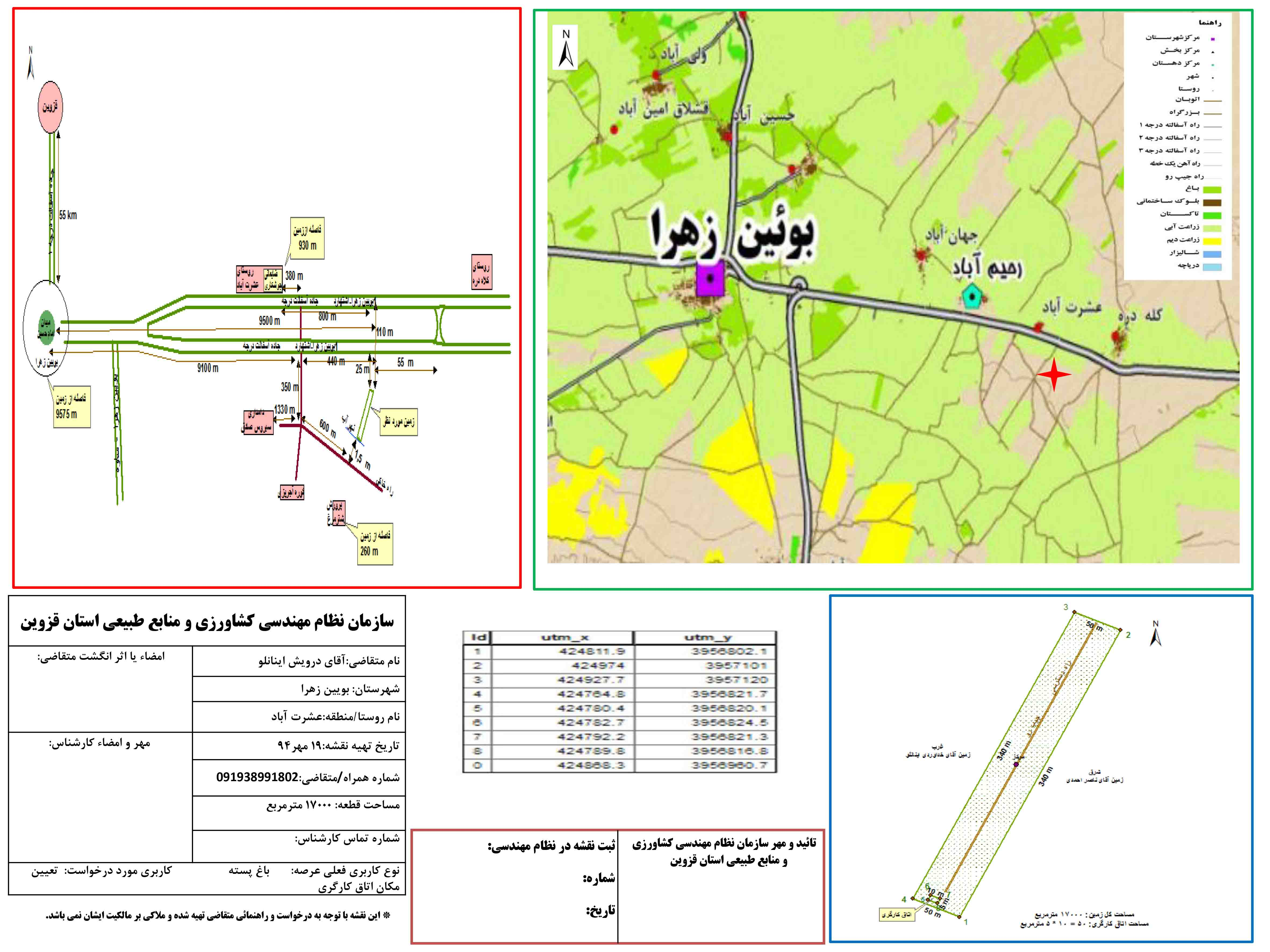 نمونه نقشه