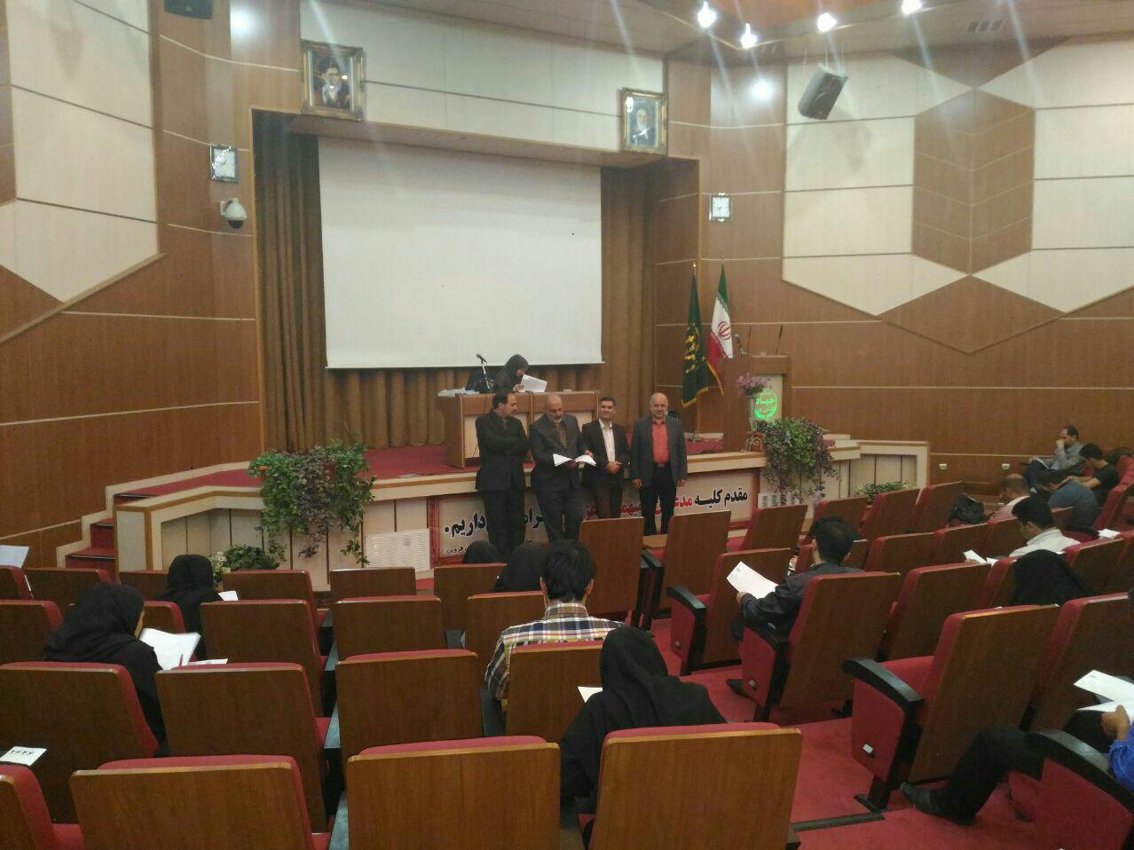 برگزاری آزمون مسئولین فنی در استان