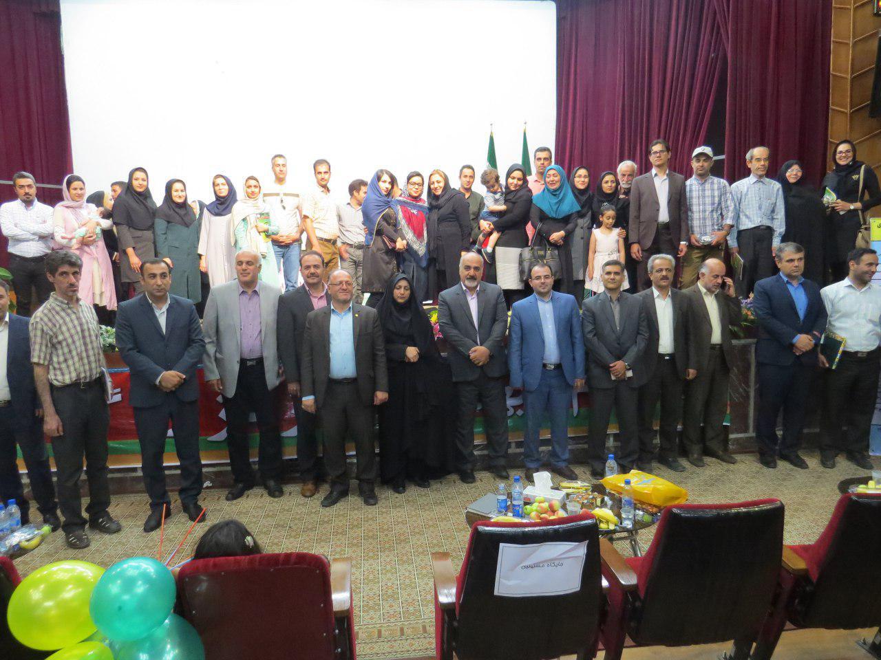 برگزاری مراسم جشن سالروز تأسیس نظام مهندسی کشاورزی و منابع طبیعی در استان قزوین