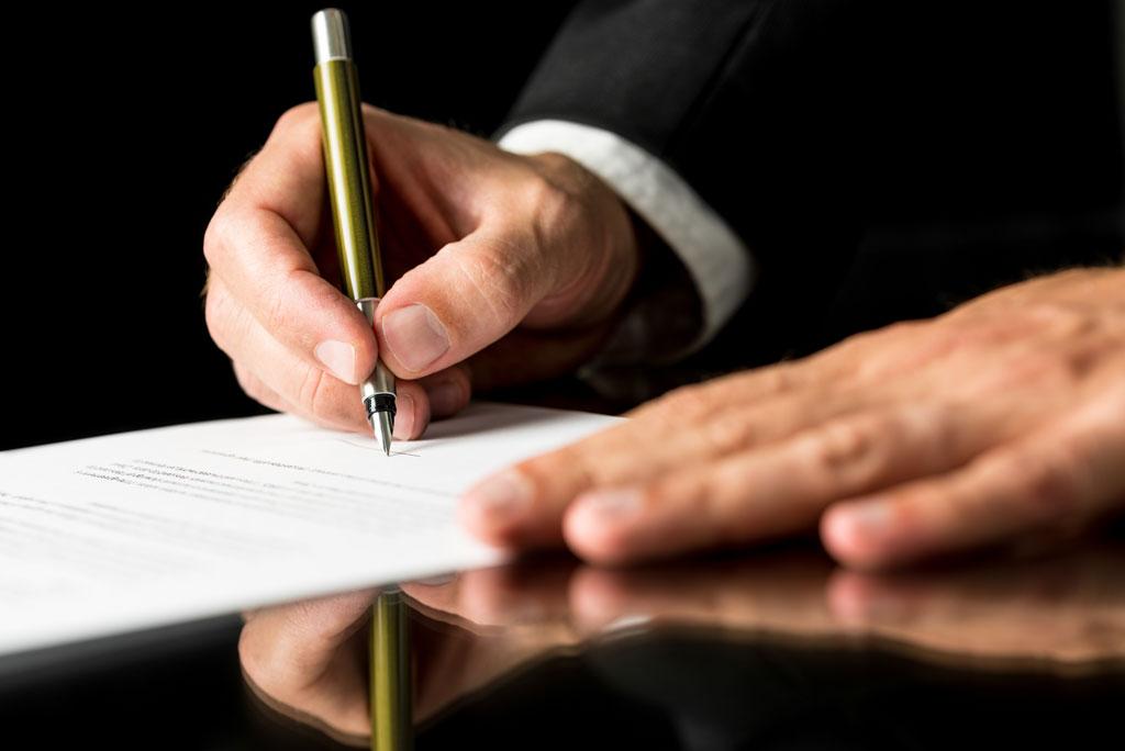 تفاهم نامه مشاوره در امور مالی، قراردادها، بیمه، ثبت شرکت، مالیات و … ۱۳۹۶