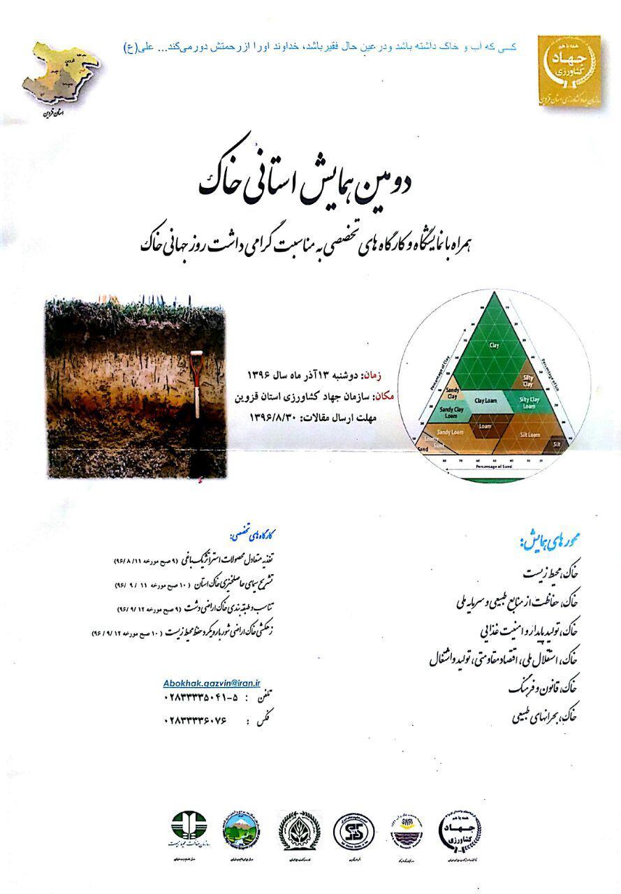 برگزاری مراسم روز جهانی خاک